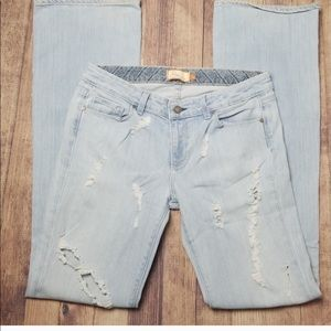 Paige Benedict Canyon Distressed Jeans size 30!